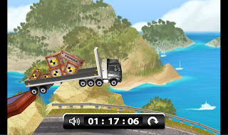 World's Strongest Truck Advergame 2 Screenshot - Bridge