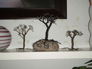 How to Make Twisted Wire Tree Sculpture Tutorials