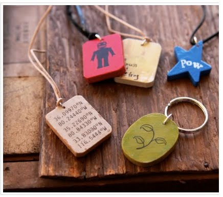 How to make wooden pendants the beading gems journal if you are making this for someone who is metal allergic omit the jump ring and thread the suede or cord through the hole and then make mozeypictures Image collections