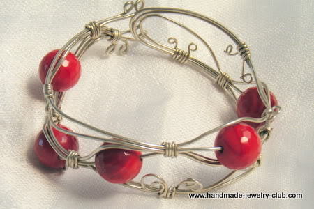 Wire Wrapped Bangle Tutorials ~ The Beading Gem\'s Journal