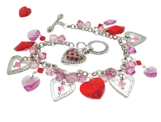 so lets celebrate with some awesome valentines day inspired tutorials also check my past posts at the bottom for more - Valentines Day Bracelet