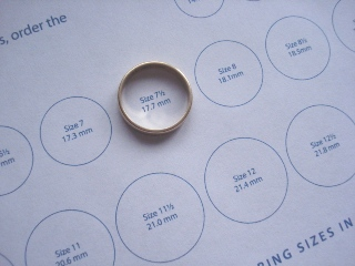 Superb image within ring size template printable