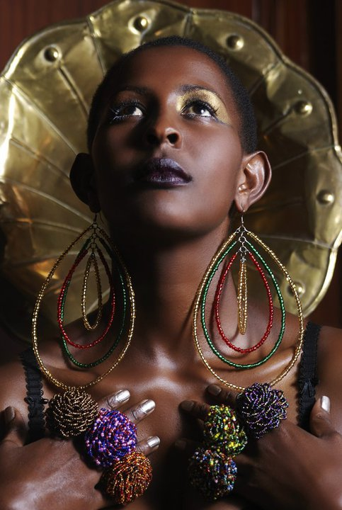 Modern African Bead Jewelry by Jewellahry