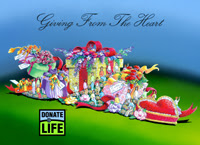 Donate Life Float