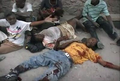 Haiti Earth Quake Damage
