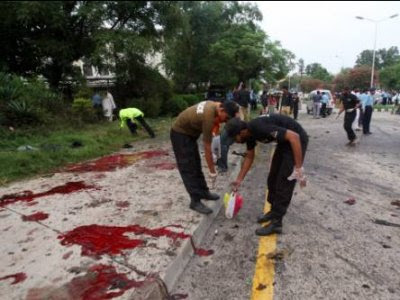 Bomb blast at Southern Afghanistan