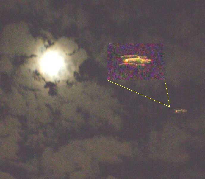 OVNI em São Paulo, SP - Brasil - 12-10-2008