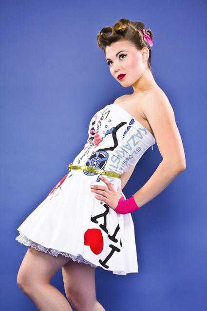 Angela Johnson nos trae una divertida colección de prendas de mujer
