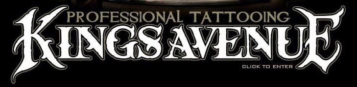 """Профессиональная студия татуировки в Ню-Йорке """"KingsAvenue""""."""