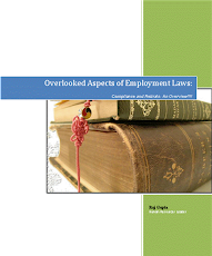 Overlooked Aspects of Employment Laws...Compliance and Retirals : An Overview