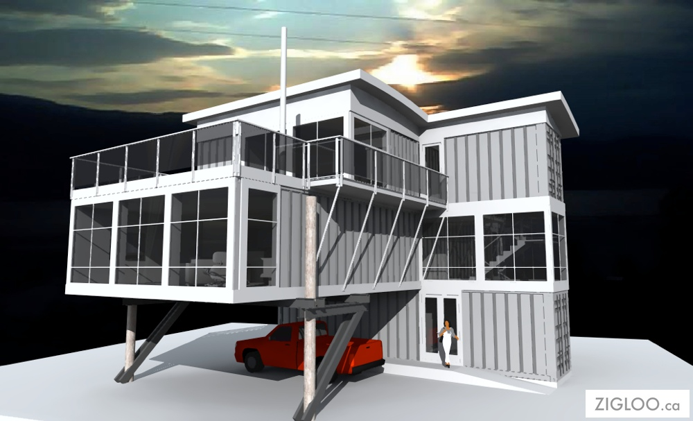Cargo Shipping Containers Home Designs