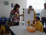 Felicita regidora Lurdes Peña a jovenes con capacidades diferentes