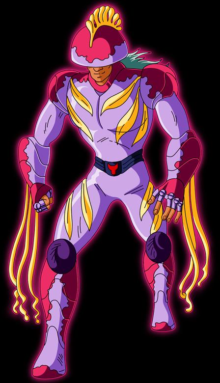 Kuraggu de Medusa - Arcángel Medusa+(Caballero+Fantasma)