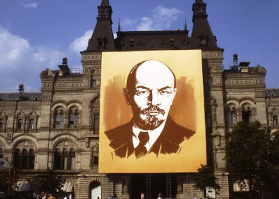 Lenin during Party Congress