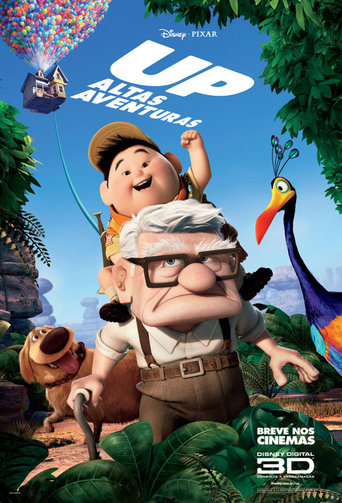 Cartaz do filme UP - Altas Aventuras