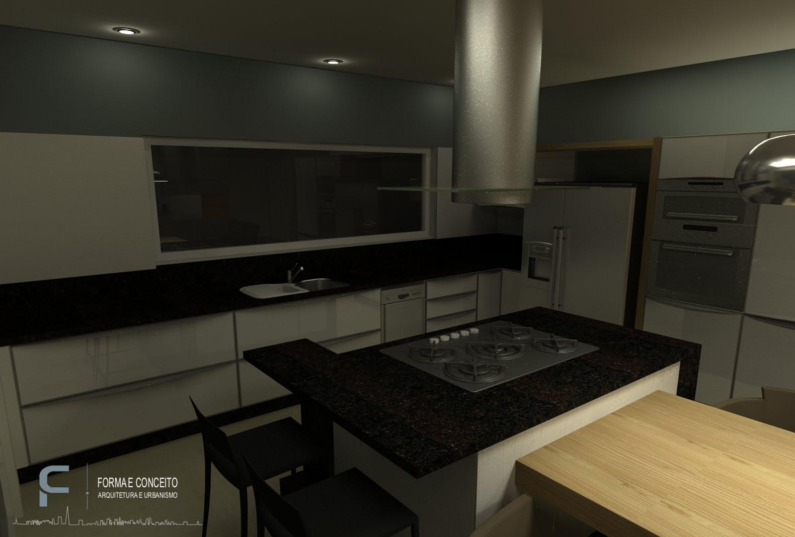 FORMA E CONCEITO ARQUITETURA: Projeto de interiores para residência  #90753B 1600 1080
