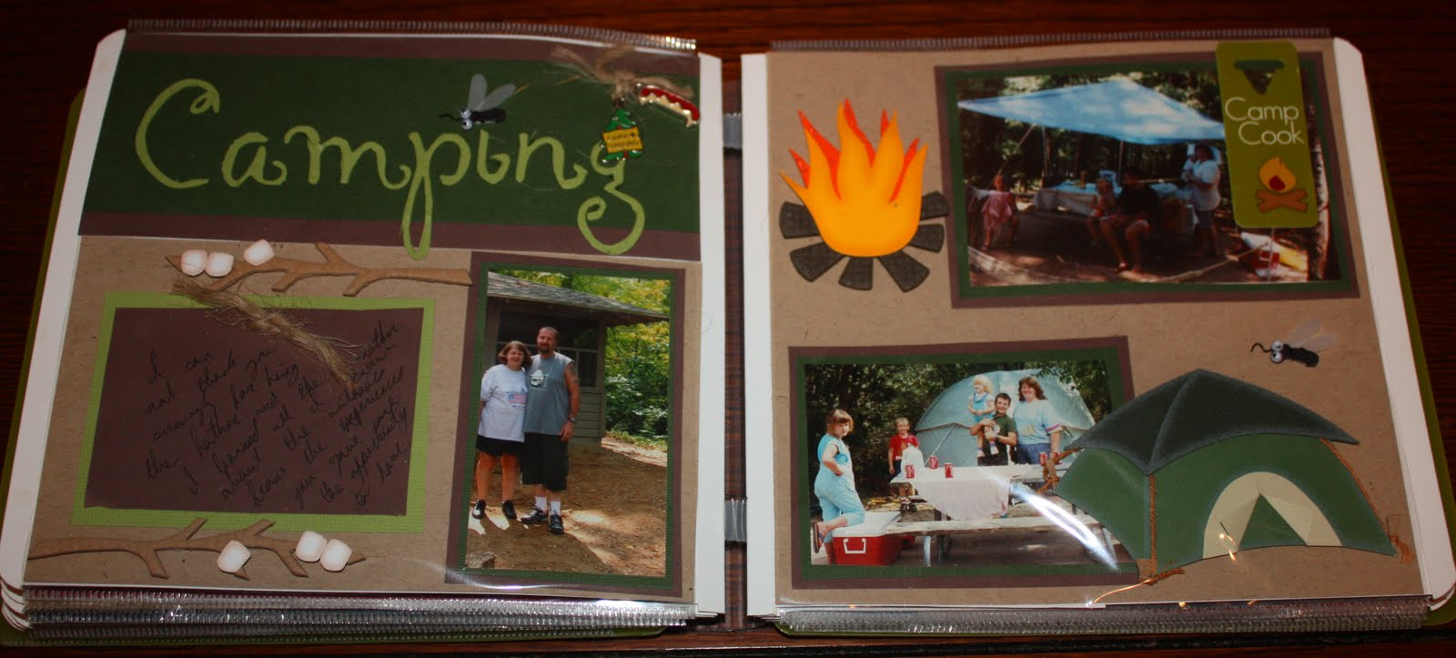 Scrapbook ideas words - You Will Not Find This In My Book These Experiences Are Truly A Gift From My Mom To My Brother She Grew Up A City Girl In Dallas With A Sister