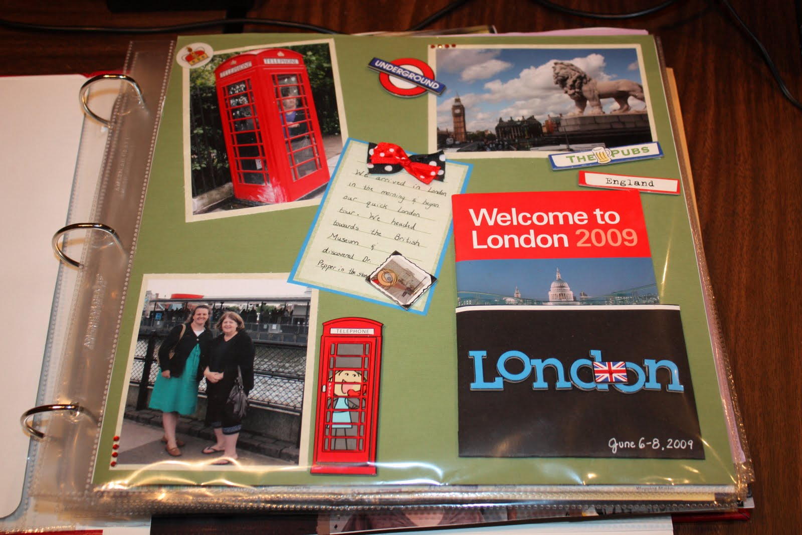 Scrapbook paper england - I Love Making Little Paper Pockets To Store Brochures Etc I Sometimes Ave When On Vacation Depending On How Much Of A Pack Rat I M Feeling Like At The