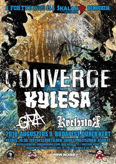 Risooko? - Sivu 5 9th+August+Converge+Kylesa+Gaza+Kvelertak+live+in+Budapest+Hungary