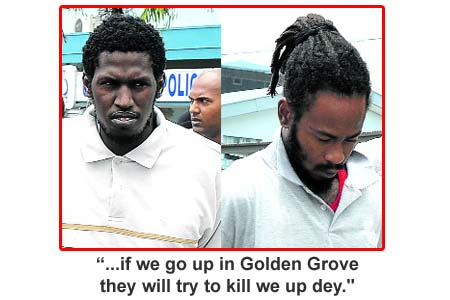 ... Marvin Gay are accused of killing Carapichaima accountant Neeshad Ali.