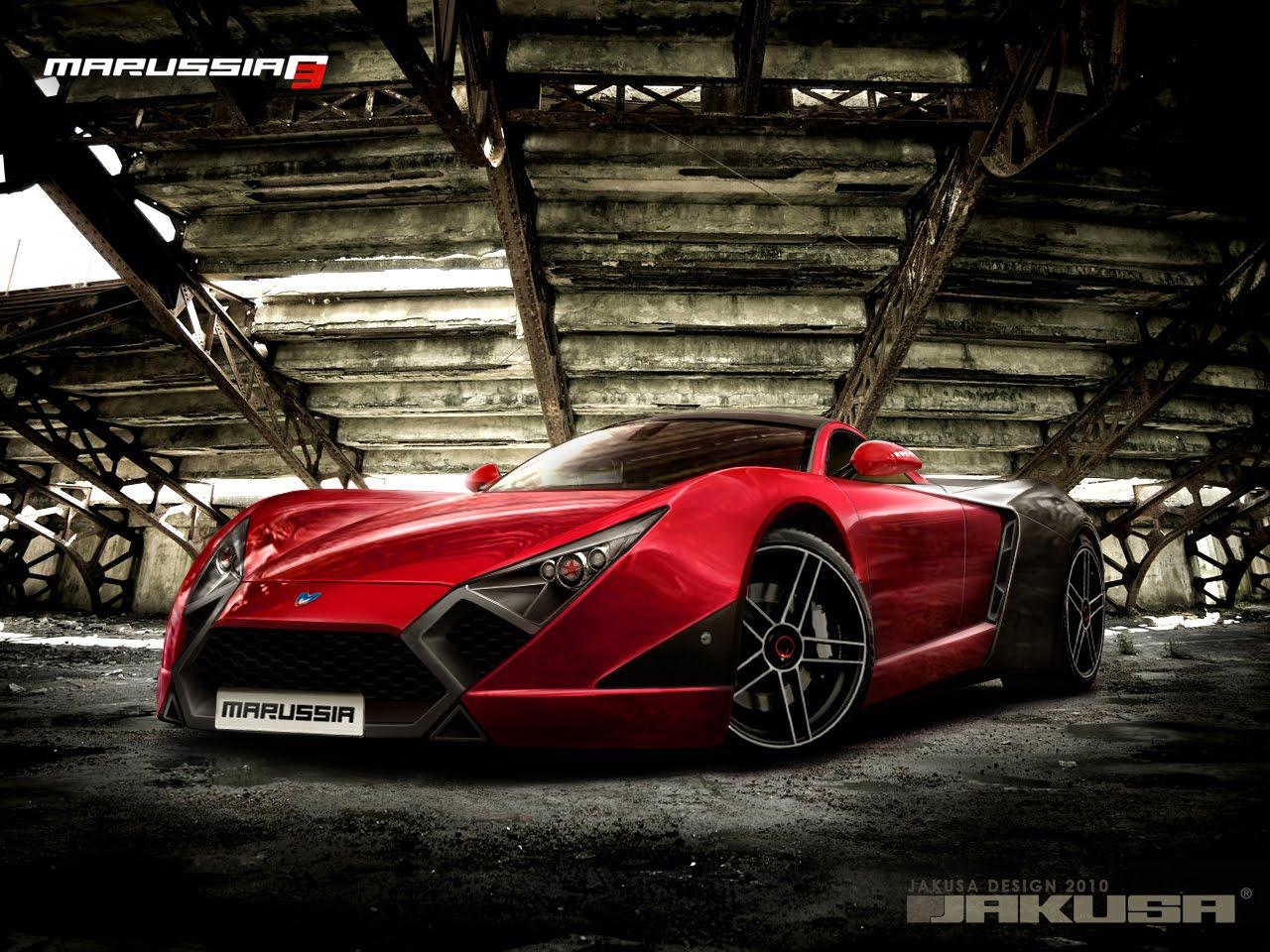 cars master zone: Marussia B3 Concept 2010