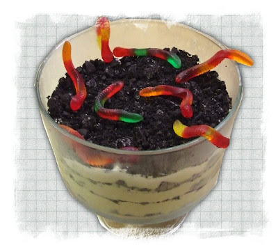 Halloween Dirt Cake Picture