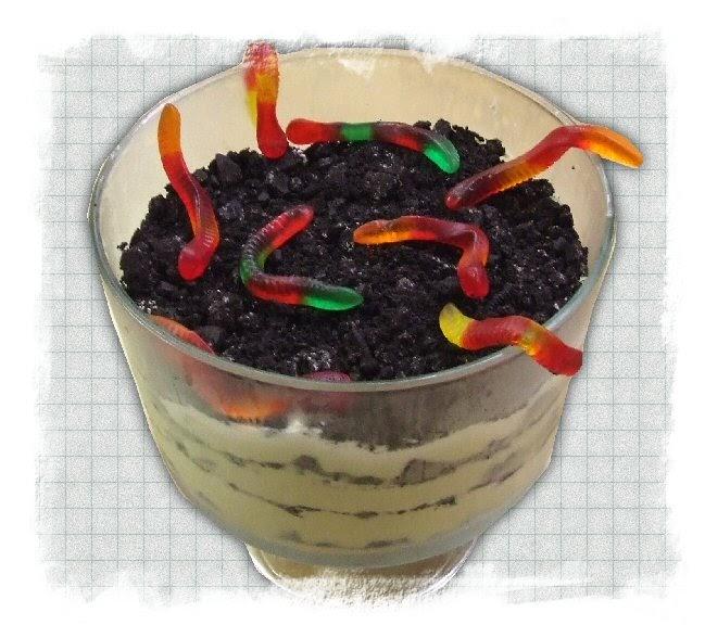 Dirt Cake Trifle Bowl