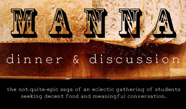 Manna Dinner and Discussion