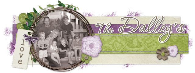 The Dalleys Blog Design