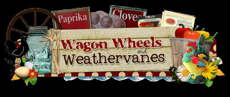 Wagon Wheel Blog Design