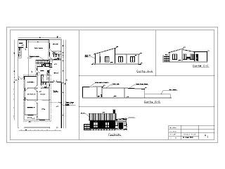 Ejemplos de planos corte fachada y planta for Planos y fachadas de casas de una planta