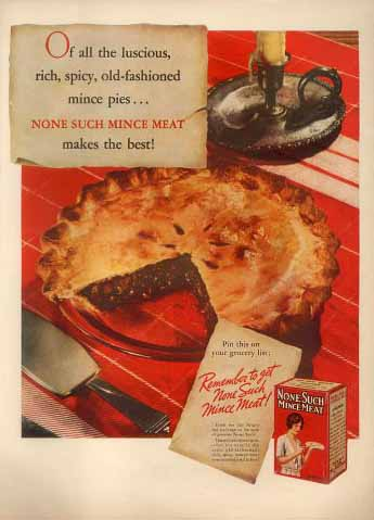 Nonesuch mincemeat pie recipe