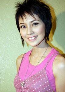 Artis Wanita Berambut Pendek Bondol  Top DieXite