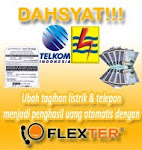 Ubah tagihan listrik dan telpon menjadi penghasil uang otomatis dengan flexter