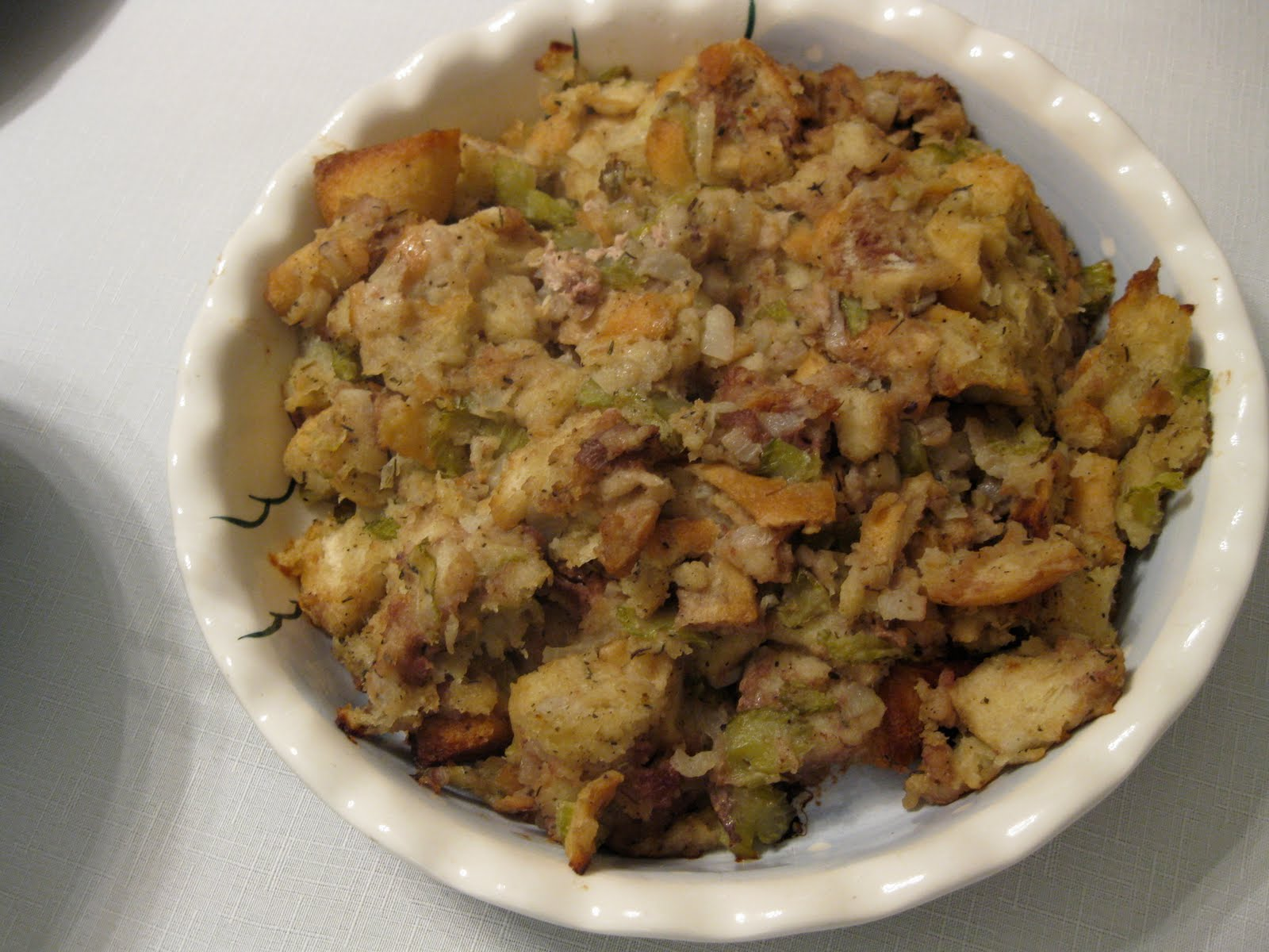 The Gourmet Project: Herbed Bread Stuffing (Page 378)