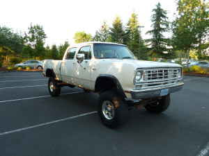 The Old Truck Ranch: 1976 Dodge Crew Power Wagon