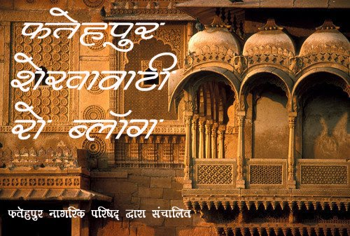 Fatehpur Shekhawati Ro Blog