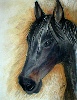 A Stable Friend - Horse by Cori Solomon