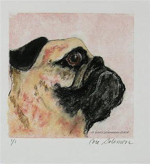 Pug - Bold Determination By Cori Solomon