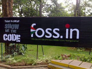 Foss.in Venue IIsc Bangalore