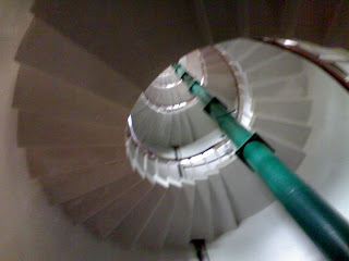 Stairs of kovalam lighthouse