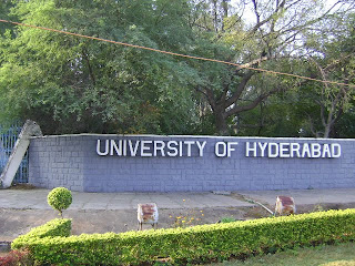 University of Hyderabad Main gate