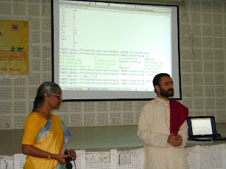 Prof.Amba Kulkarni and Thirumala Kulkarni