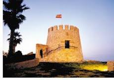 La antigua torre vijía de Torrevieja, reconstruida.
