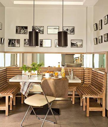 El encanto de un office amor por la decoraci n - Office de cocina ...
