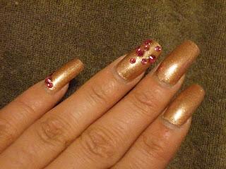 Arte Nail Art Japones Arte Nail Art Japones GoldPink nails art 3