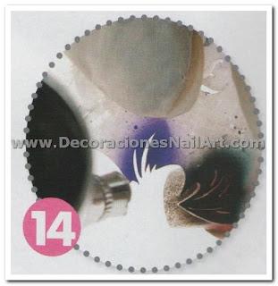 Diseño Práctico y fácil de hacer en uñas acrílicas (AEROGRAFíA) Diseño Práctico y fácil de hacer en uñas acrílicas (AEROGRAFíA) Dise 25C3 25B1os de U 25C3 25B1as 49