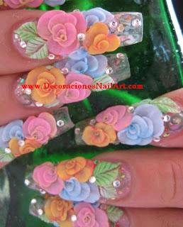 como hacer uñas acrilicas con diseño en 3D (encapsulado) paso a paso como hacer uñas acrilicas con diseño en 3D (encapsulado) paso a paso 5555 093