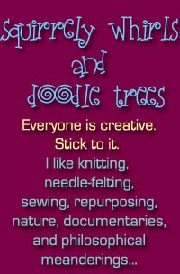 Squirrely Whirls and Doodle Trees