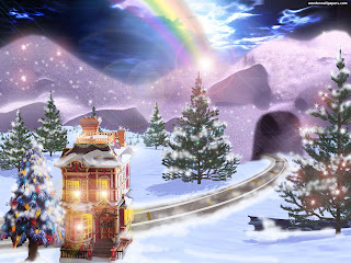 large screen Christmas wallpapers